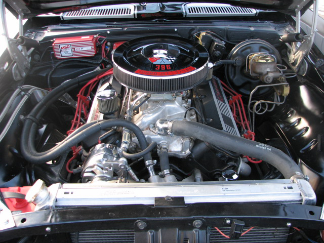 1969 CHEVROLET CAMARO 2 DOOR COUPE - Engine - 81854