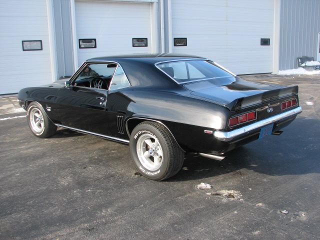 1969 CHEVROLET CAMARO 2 DOOR COUPE - Rear 3/4 - 81854