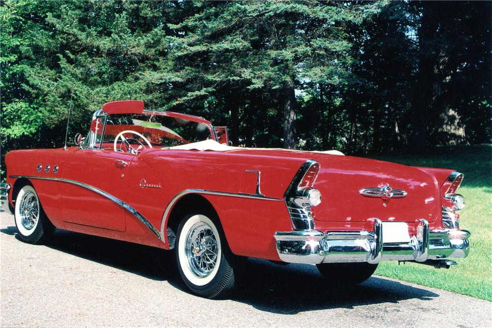 1955 BUICK SPECIAL CONVERTIBLE - Rear 3/4 - 81861