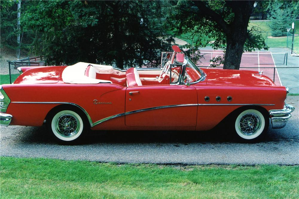 1955 BUICK SPECIAL CONVERTIBLE - Side Profile - 81861