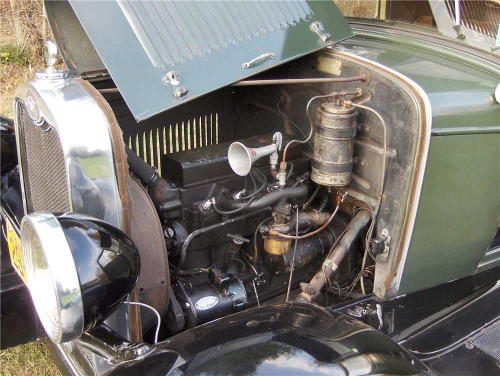 1928 CHEVROLET AB NATIONAL 2 DOOR COUPE - Engine - 81862