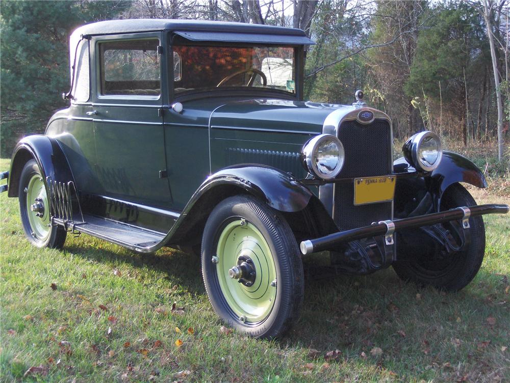1928 chevrolet ab national 2 door coupe 81862