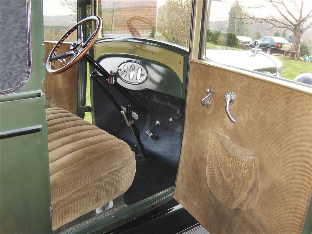 1928 CHEVROLET AB NATIONAL 2 DOOR COUPE - Interior - 81862