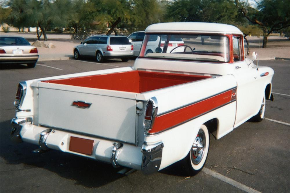 1957 CHEVROLET CAMEO PICKUP - 81863