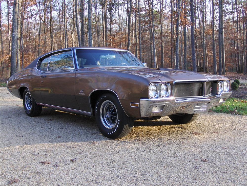 1970 BUICK GS 455 STAGE 1 COUPE - Front 3/4 - 81864