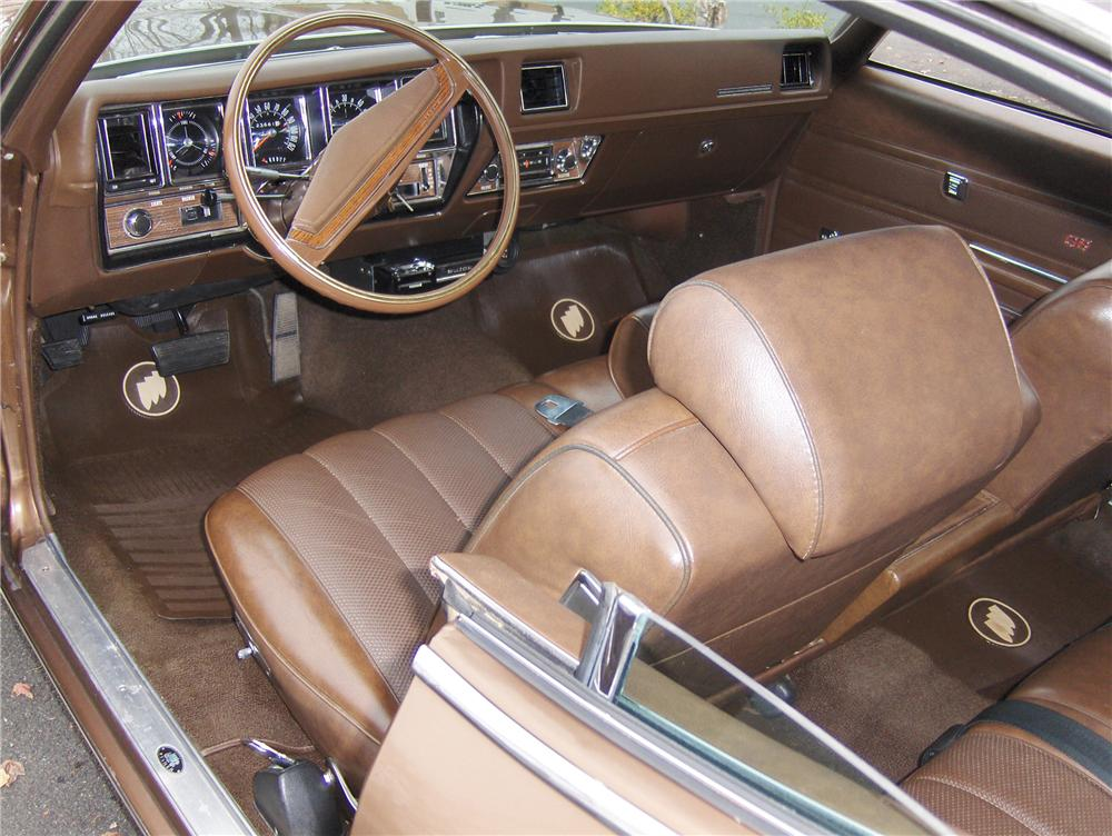 1970 BUICK GS 455 STAGE 1 COUPE - Interior - 81864