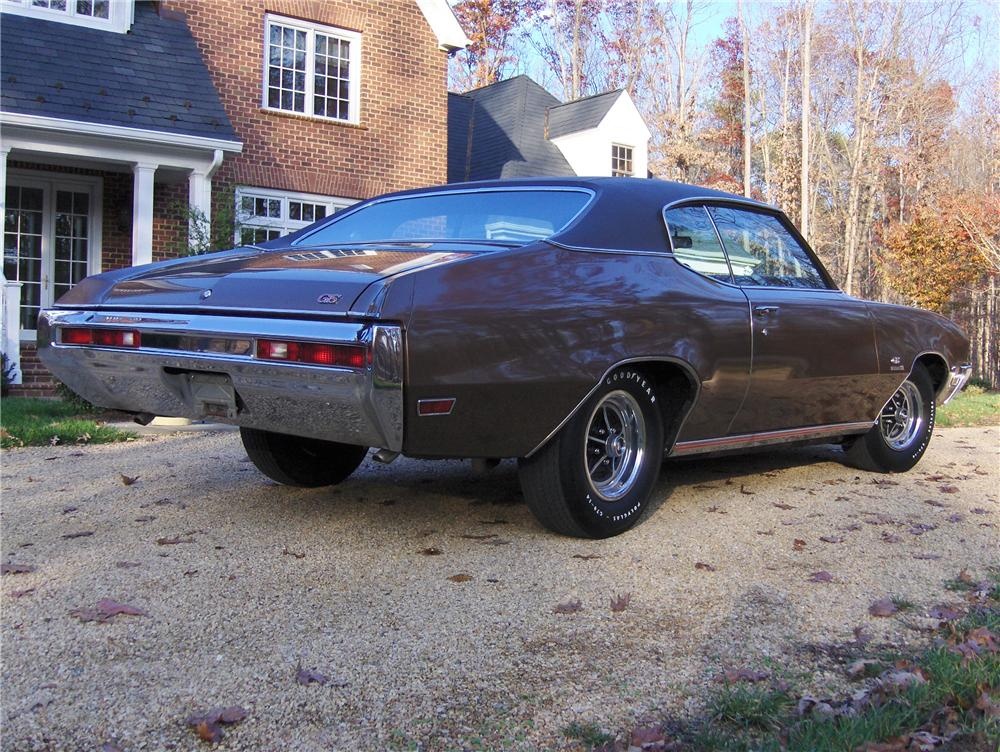 1970 BUICK GS 455 STAGE 1 COUPE - Rear 3/4 - 81864