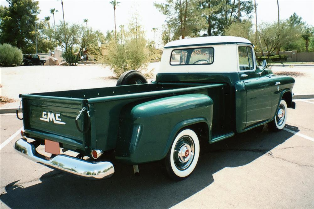 1957 GMC 100 PICKUP - Rear 3/4 - 81865