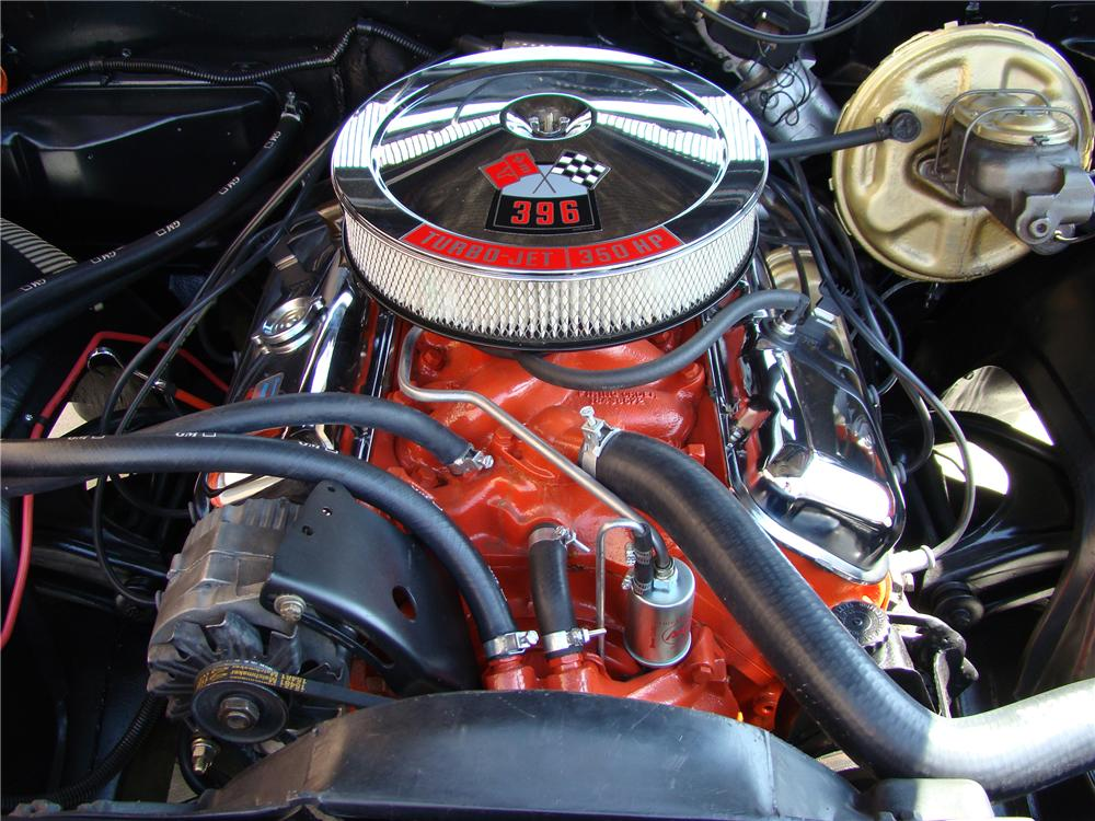 1969 CHEVROLET CHEVELLE SS 396 2 DOOR CONVERTIBLE - Engine - 81869