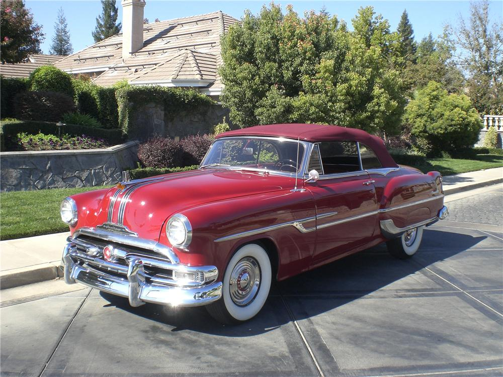 1953 PONTIAC CHIEFTAIN 2 DOOR CONVERTIBLE  81870