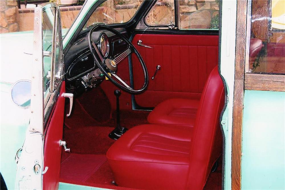 1961 MORRIS MINOR TRAVELLER CUSTOM WOODIE - Interior - 81873