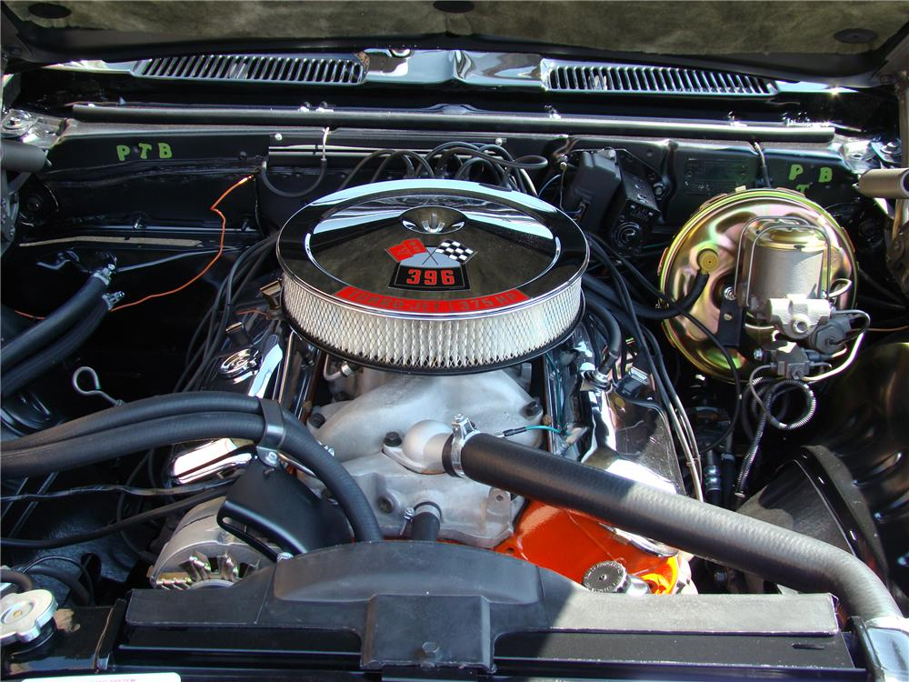 1969 CHEVROLET CAMARO 2 DOOR COUPE - Engine - 81874