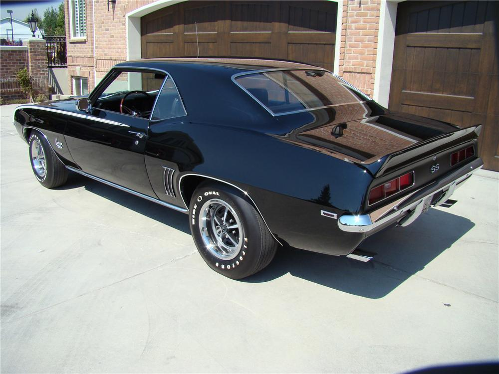 1969 CHEVROLET CAMARO 2 DOOR COUPE - Rear 3/4 - 81874