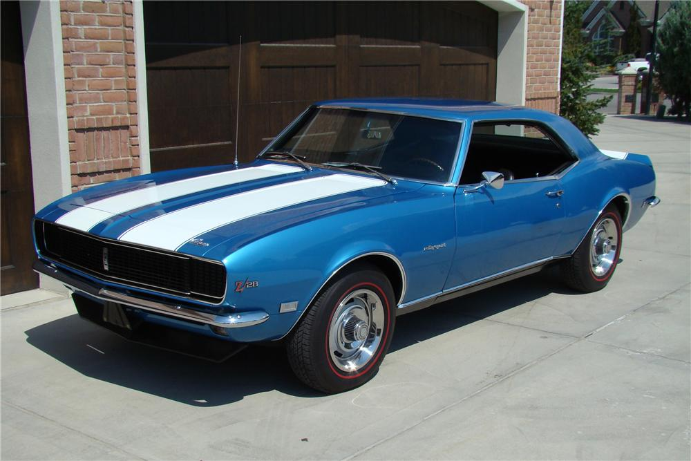 1968 CHEVROLET CAMARO Z/28 RS COUPE - Front 3/4 - 81876