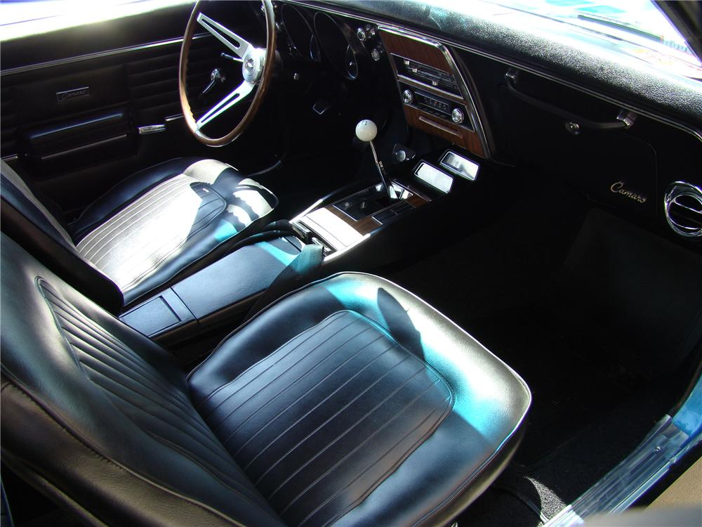1968 CHEVROLET CAMARO Z/28 RS COUPE - Interior - 81876