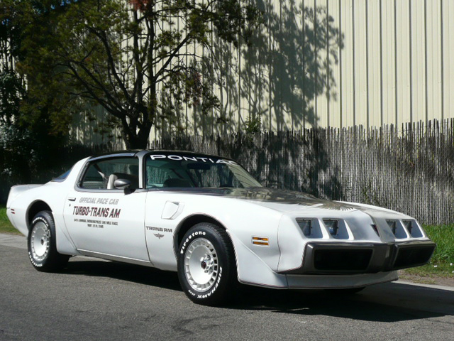 1980 Pontiac Firebird Trans Am Pace Car Edition 81880