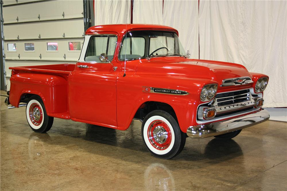 1959 CHEVROLET APACHE PICKUP - Front 3/4 - 81889