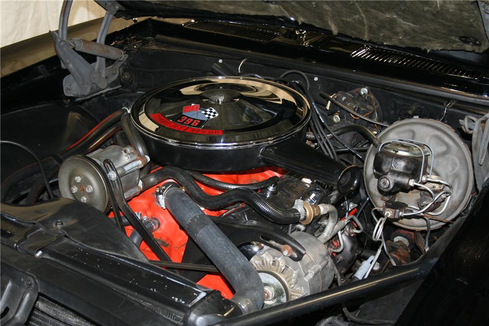 1967 CHEVROLET CAMARO RS/SS 2 DOOR CONVERTIBLE - Engine - 81896