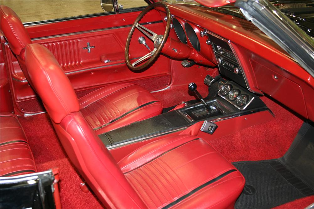 1967 CHEVROLET CAMARO RS/SS 2 DOOR CONVERTIBLE - Interior - 81896