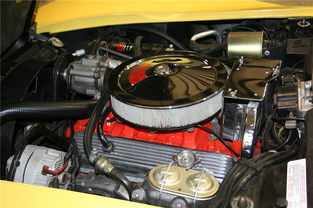 1969 CHEVROLET CORVETTE CONVERTIBLE - Engine - 81897