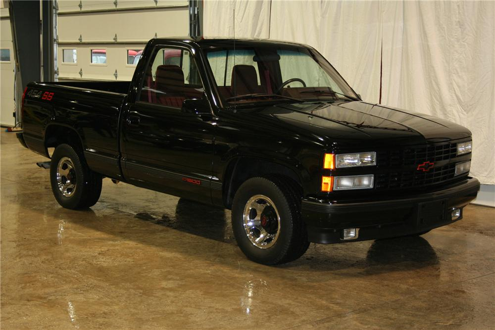 1990 CHEVROLET 1500 SS 454 PICKUP - Front 3/4 - 81898