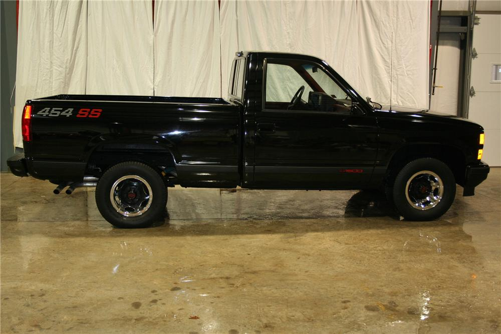 1990 CHEVROLET 1500 SS 454 PICKUP - Side Profile - 81898