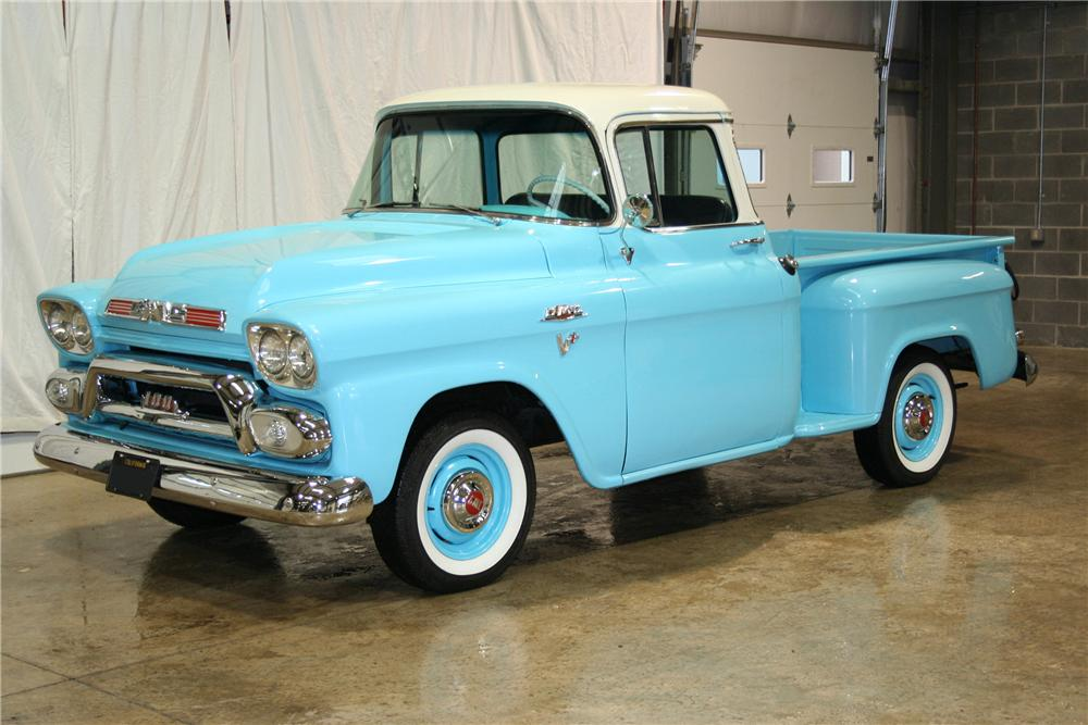 1959 GMC 100 STEPSIDE PICKUP - Front 3/4 - 81901
