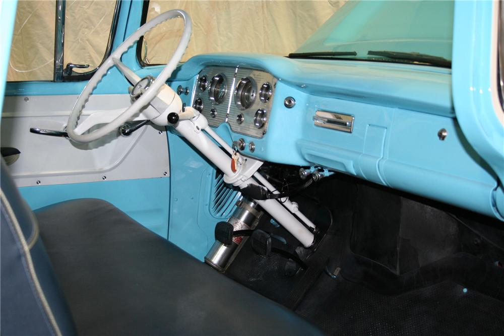 1959 GMC 100 STEPSIDE PICKUP - Interior - 81901