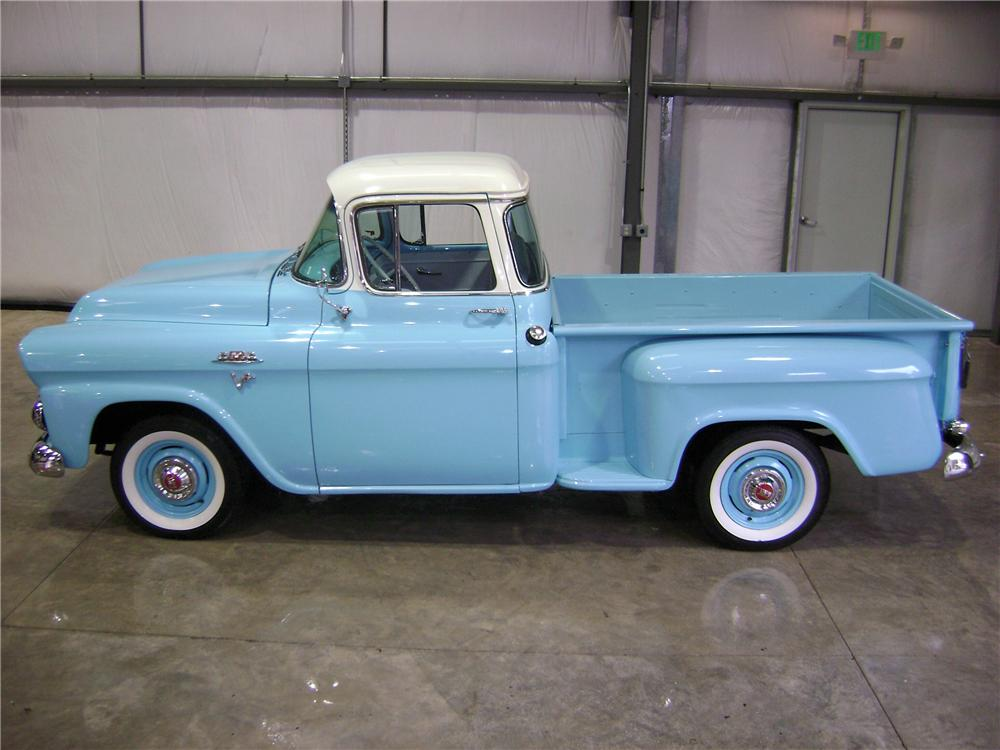 1959 GMC 100 STEPSIDE PICKUP - Side Profile - 81901