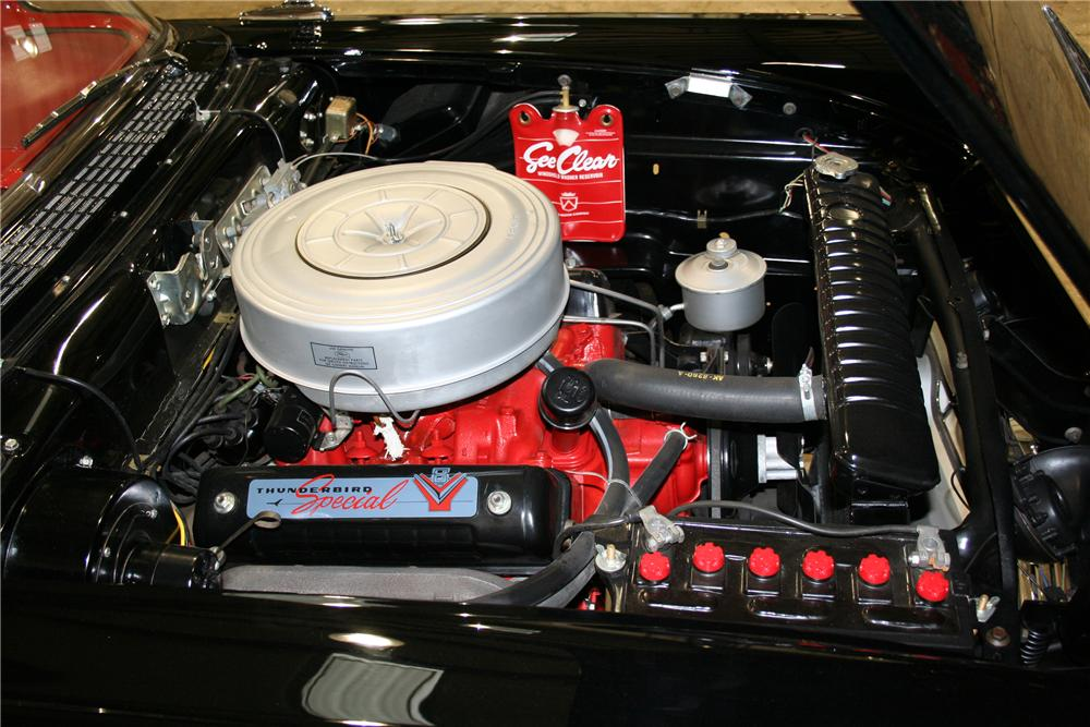 1957 FORD FAIRLANE 500 CONVERTIBLE - Engine - 81902