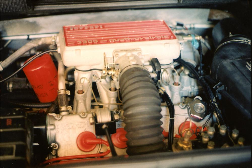 1986 FERRARI 328 GTS SPIDER - Engine - 81912