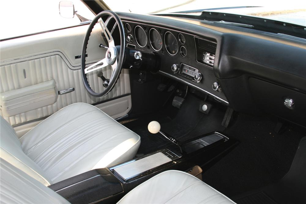 1970 CHEVROLET CHEVELLE SS 396 2 DOOR COUPE - Interior - 81913