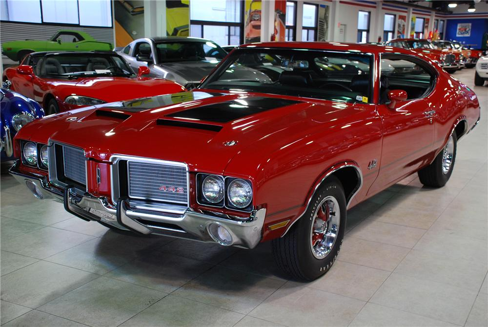 1972 OLDSMOBILE CUTLASS 2 DOOR HARDTOP 442 RE-CREATION - Front 3/4 - 81937
