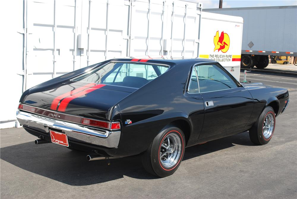 1968 AMERICAN MOTORS AMX 2 DOOR COUPE - Rear 3/4 - 81941