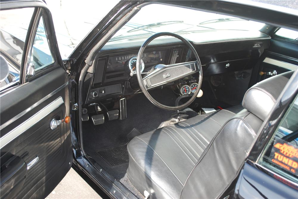 1969 CHEVROLET NOVA COUPE YENKO RE-CREATION - Interior - 81942