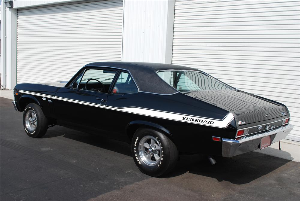 1969 CHEVROLET NOVA COUPE YENKO RE-CREATION - Rear 3/4 - 81942