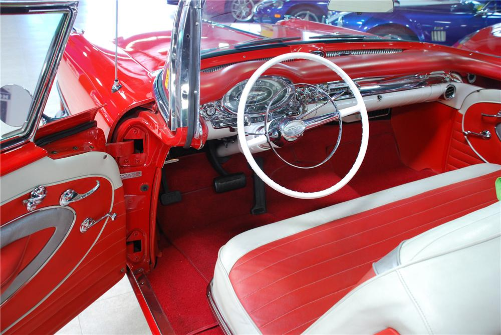 1957 OLDSMOBILE SUPER 88 CONVERTIBLE - Interior - 81944