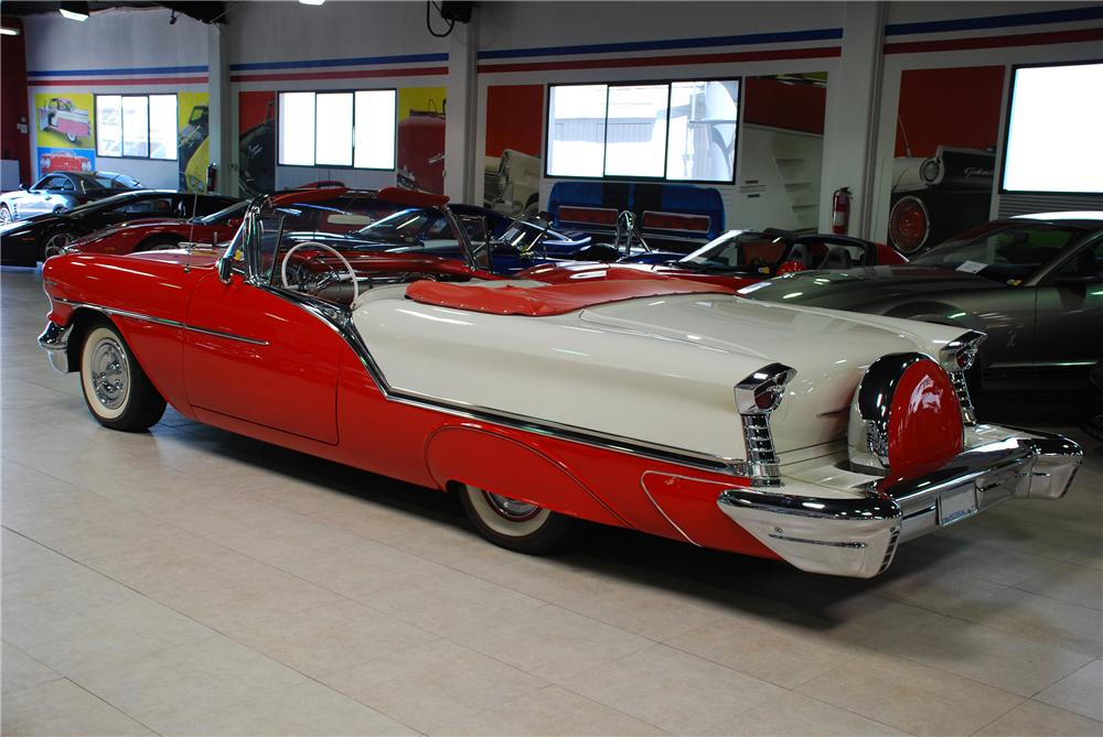 1957 OLDSMOBILE SUPER 88 CONVERTIBLE - Rear 3/4 - 81944