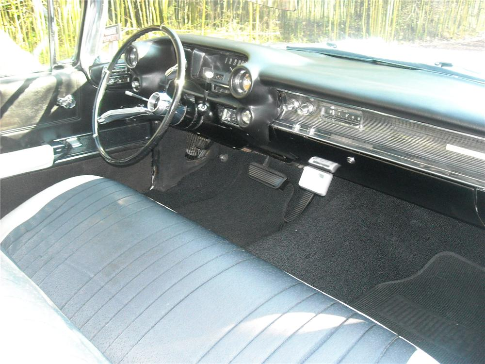 1960 CADILLAC SERIES 62 2 DOOR HARDTOP - Interior - 81949