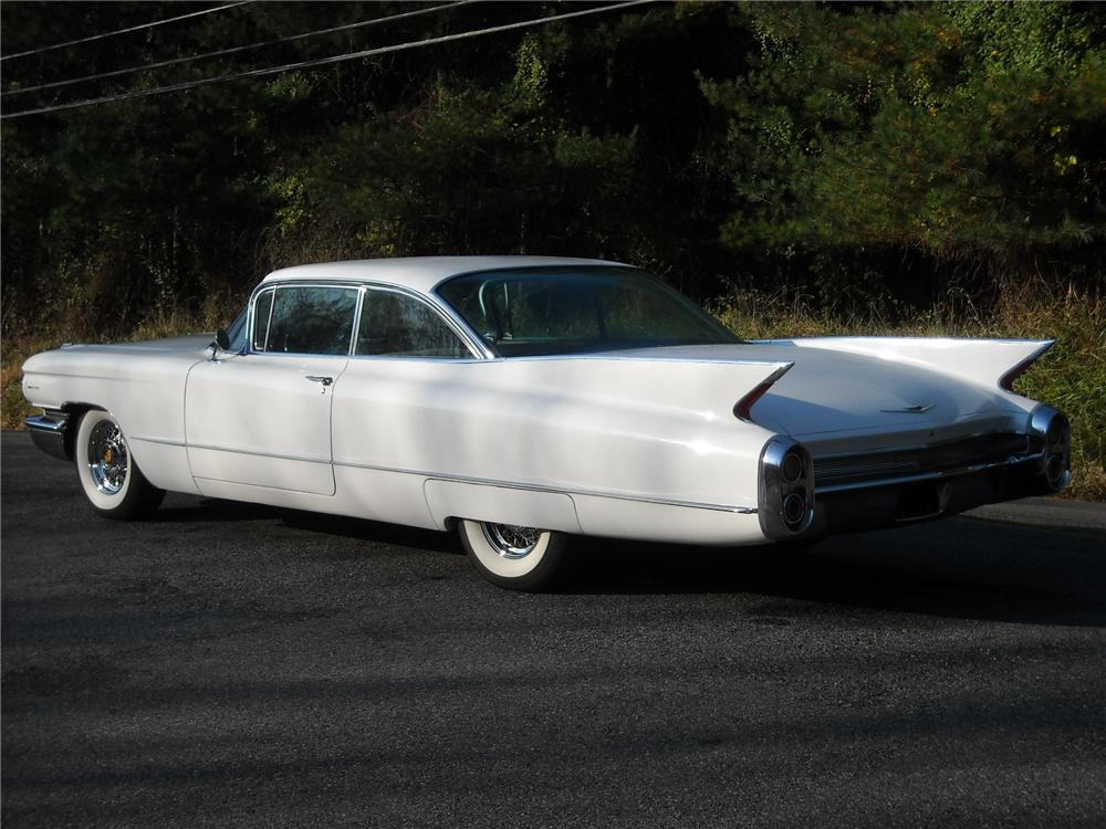 1960 CADILLAC SERIES 62 2 DOOR HARDTOP - Rear 3/4 - 81949