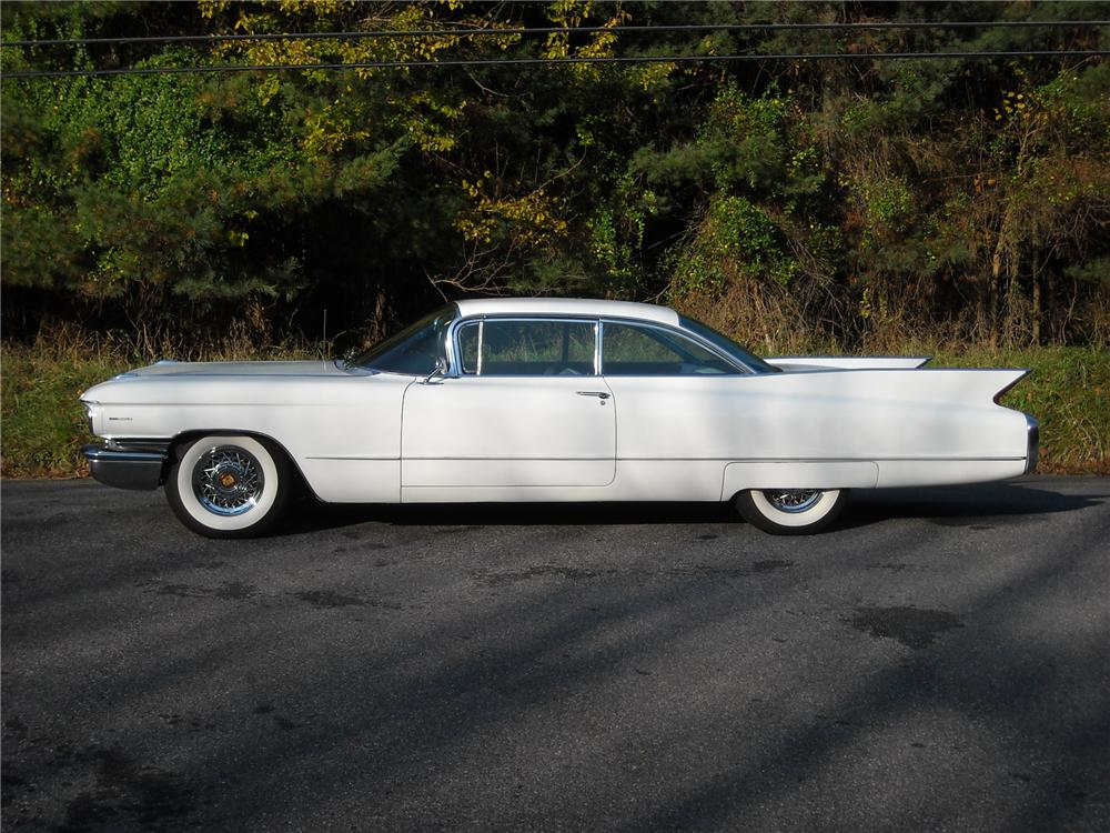 1960 CADILLAC SERIES 62 2 DOOR HARDTOP - Side Profile - 81949