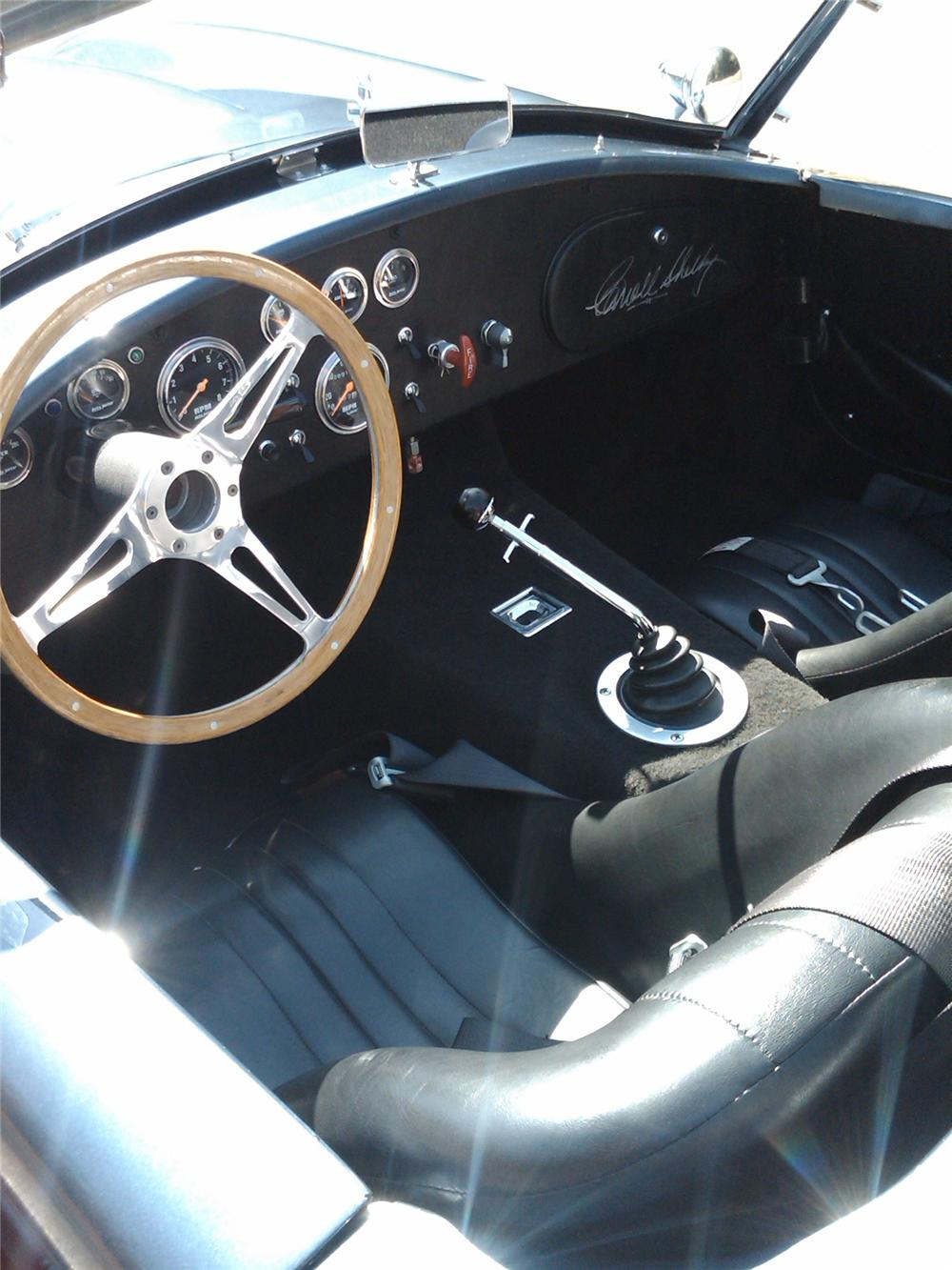 1969 SHELBY COBRA RE-CREATION ROADSTER - Interior - 81957
