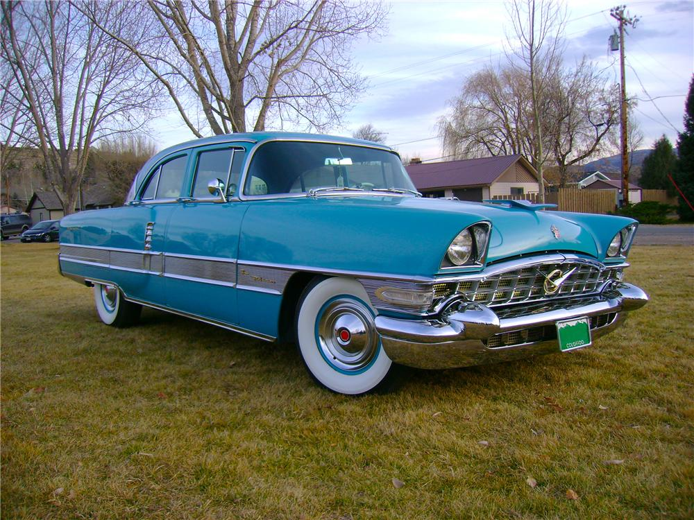 1956 PACKARD PATRICIAN 4 DOOR SEDAN - Front 3/4 - 81959