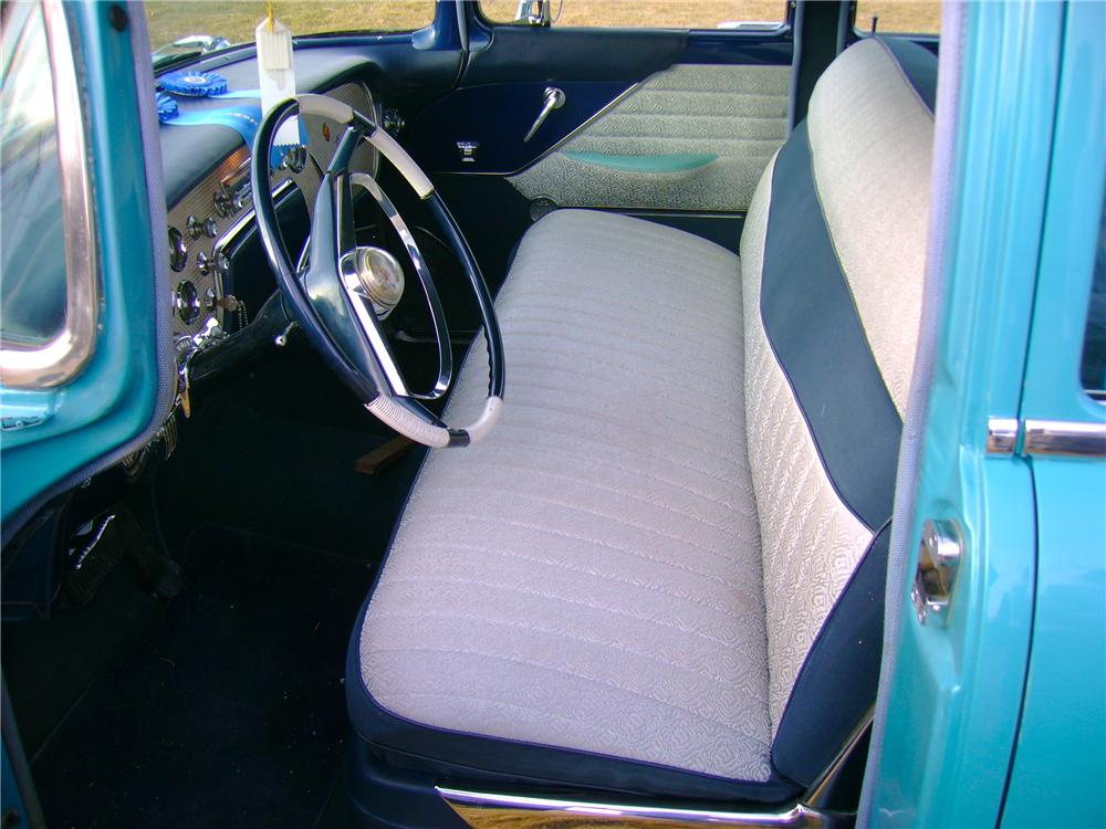 1956 PACKARD PATRICIAN 4 DOOR SEDAN - Interior - 81959