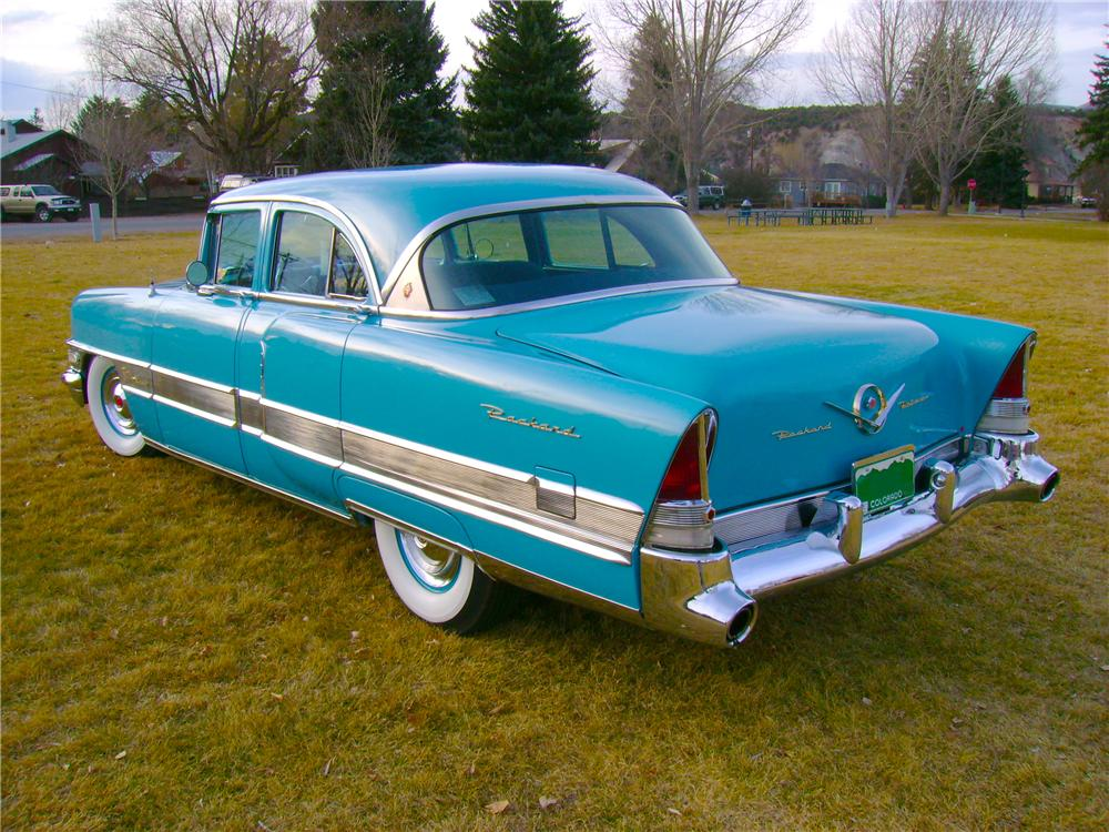 1956 PACKARD PATRICIAN 4 DOOR SEDAN - Rear 3/4 - 81959