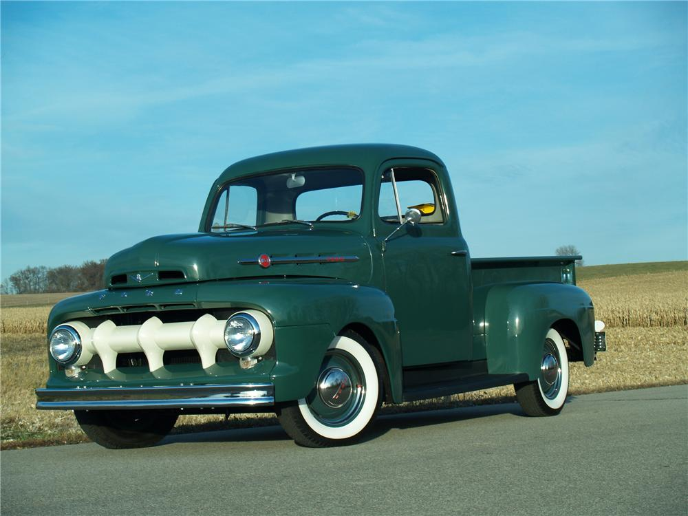 1951 FORD F-1 PICKUP - Front 3/4 - 81963