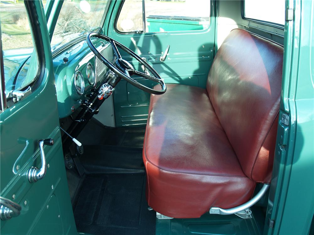 1951 FORD F-1 PICKUP - Interior - 81963