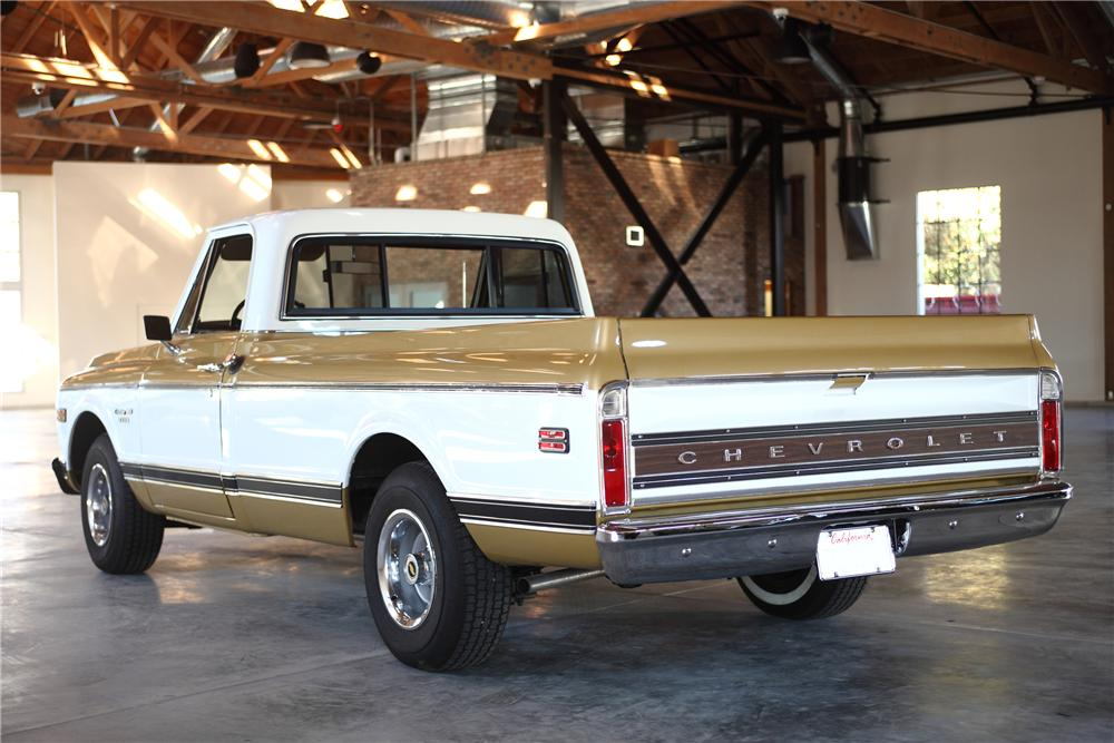 1970 CHEVROLET C-10 LONG BOX PICKUP - Rear 3/4 - 81971
