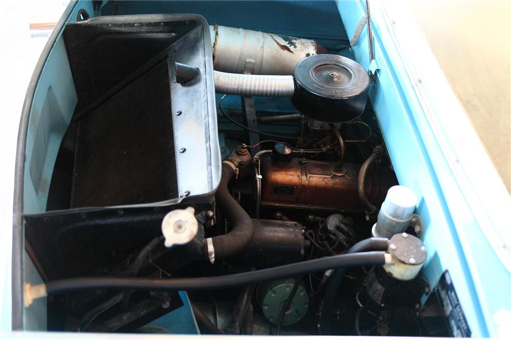 1967 AMPHICAR 770 CONVERTIBLE - Engine - 81973