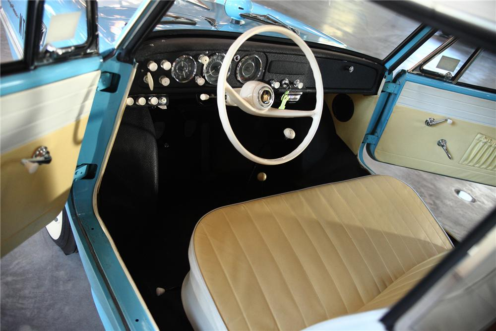 1967 AMPHICAR 770 CONVERTIBLE - Interior - 81973